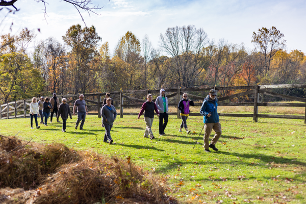 Guided and self-guided hikes at Woodlawn Manor Cultural Park help visitors imagine how people fleeing slavery may have made their way toward freedom in the North.