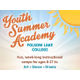 Youth Summer Academy at Folsom Lake College