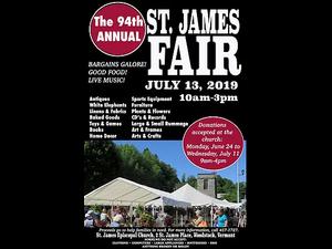 94th Annual St James Fair - start Jul 13 2019 1000AM