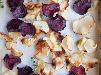 Turnip and Beet Chips