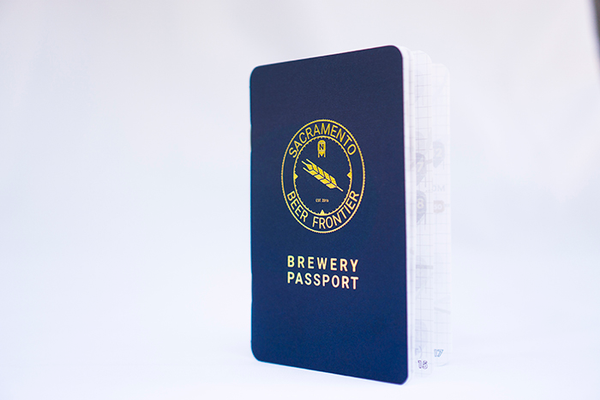 June 2019 Gold Foil Cover Brewery Passport
