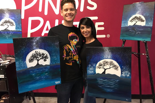 Paint and Sip Wine