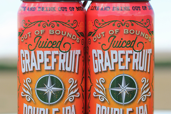 4-pack 'Juiced Grapefruit Double IPA'