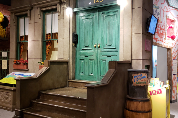 You can live out your childhood fantasies at the The Strong Museum, where the Sesame Street set gives you the perfect opportunity to hang out with Big Bird.