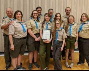 female scouts bsa