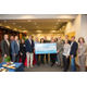 Fish for a Cure check presentation at AAMC