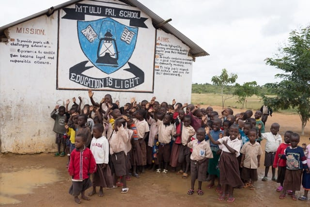 Merit Academy in Springville has adopted Mtulu School in Kenya and is raising money to help build new facilities and purchase supplies.