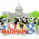 Commissioned Piece for Google Madison