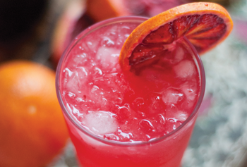 Blood Orange Fresh 75 Drink Recipe