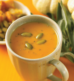Pumpkin Sage Soup Recipe