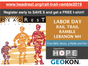 Labor Day Rail Trail Ramble - start Sep 02 2019 0900AM