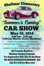 Medium summers coming car show