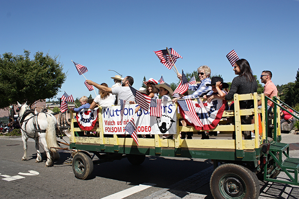 Historic Folsom Hometown Parade Sacramento Boomer