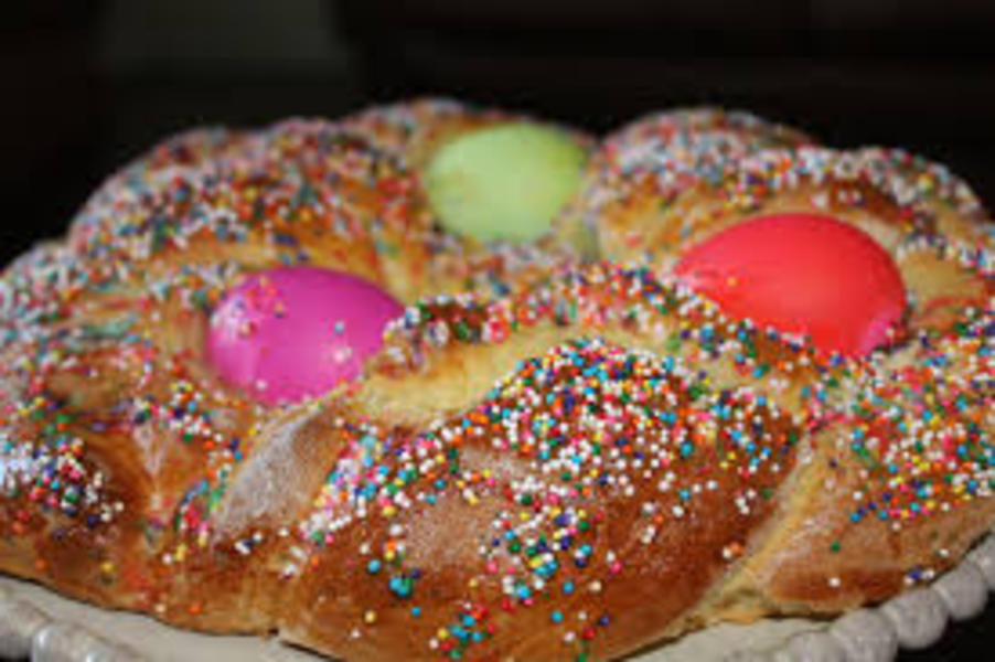 Medium italian easter bread