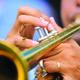 Thumb trumpetcloseup