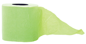 Green Eco-friendly Toilet Paper