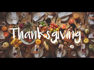 6th annual Thanksgiving tasting - start Nov 06 2019 1200PM