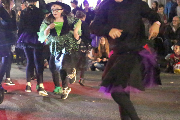 The Oxford Center for Dance had a witch theme.