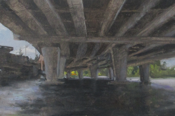'Under Route 520, Lake Washington'