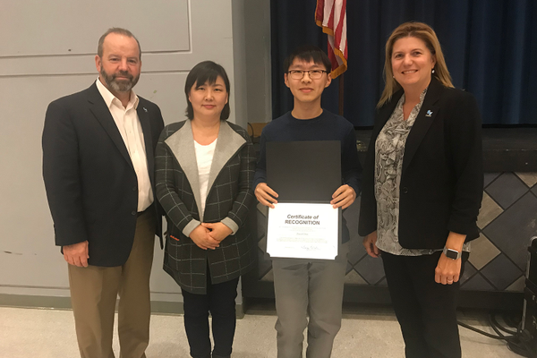 Choi Earns Highest Score on ACT