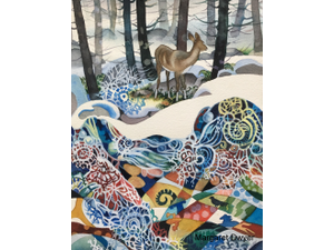 Beneath the Snow Watercolor Workshop - start Feb 15 2020 1000AM
