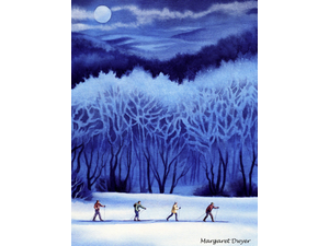 The Wintry Woods in Watercolor - start Mar 07 2020 1000AM