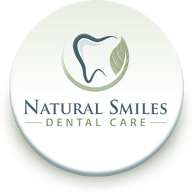 Natural smiles dental logo