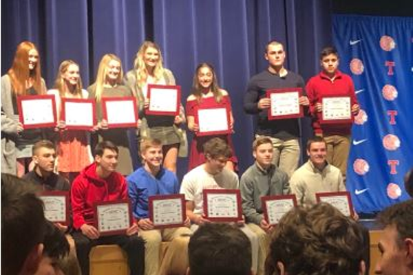 TMHS Fall Sports Awards (Casey Stevenson photo)
