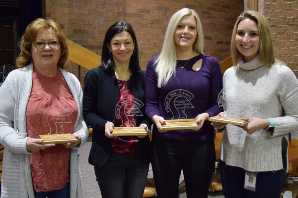 Shaler Area Recognizes Four Employees with the Extra Mile Award