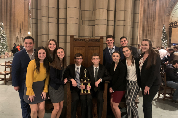 Seneca Valley Students Take Third at Mock Trial Tournament
