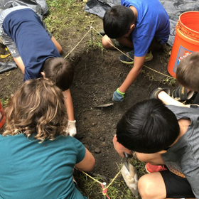 2018 kids camp dig archaeology 1 768x576