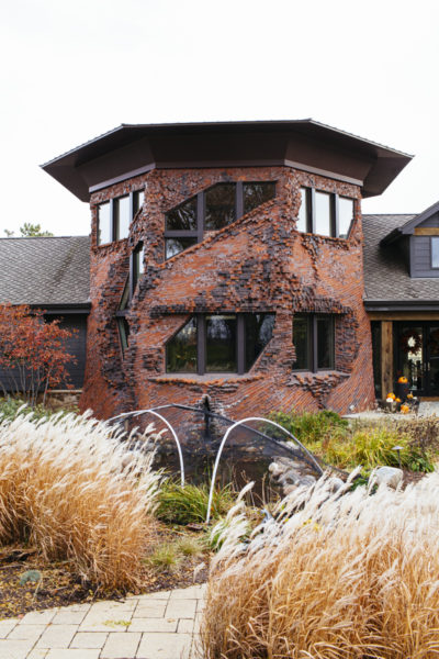 Bill and Lisa Roskens' remodeled tower