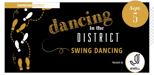 swing dancing in the district poster