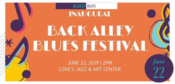 Back Alley Blues Festival poster