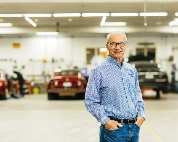 Boyd Dingman of Dingman's Collision Center