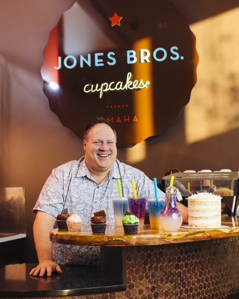 Bill Jones of Jones Bros. Cupcakes