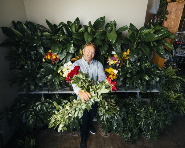 Scott Taylor of Taylor's Flowers