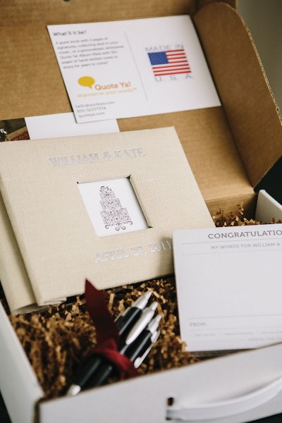 Filipi had personalized guest cards at her own wedding, which gave her the business idea.