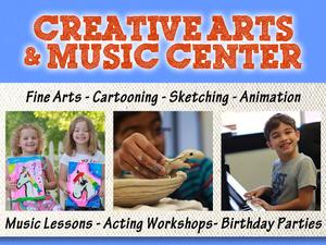 Creative Arts  Music Center