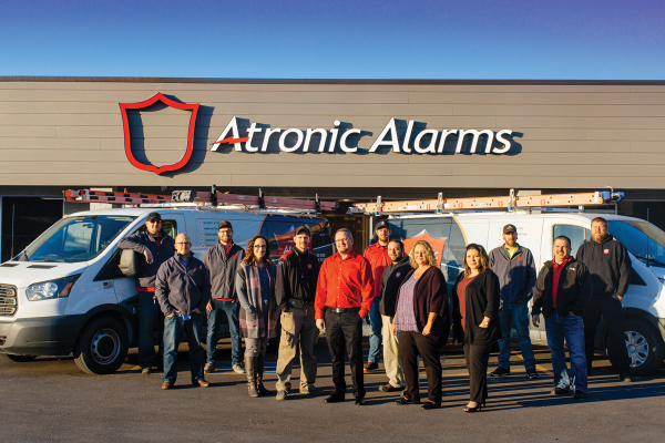 The staff of Atronic Alarms