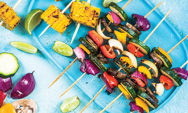 Grilled Vegetable Kabobs