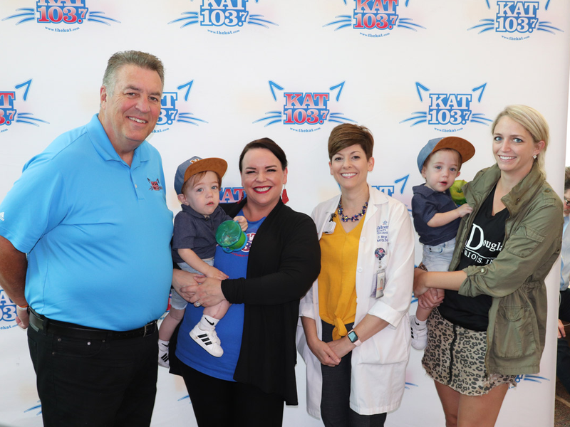 attendees at Children's Miracle Network Radiothon