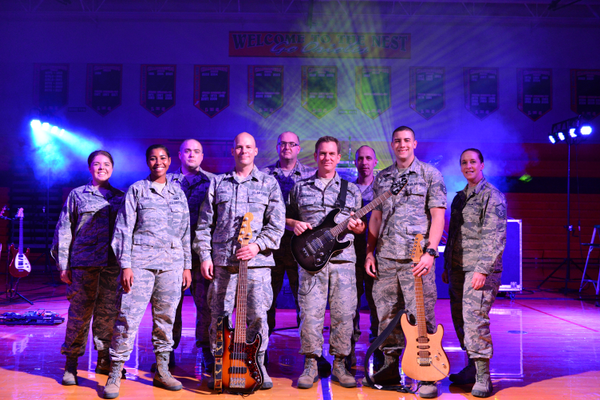 United States Air Force band Raptor