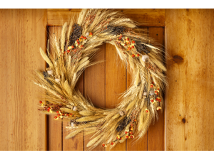 Make a Fall Wreath - Create a Festive Wreath for Your Front Door