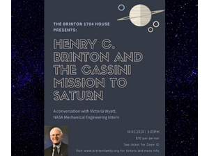 HENRY C BRINTON  THE CASSINI SPACE MISSION - start 10032020 0300PM