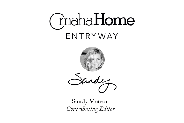 Home Entryway cover, with Sandy Matson