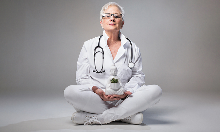 Holistic alternative integrative medicine practitioner