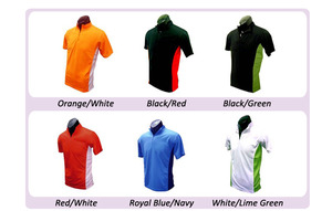 Medium ready zip polo