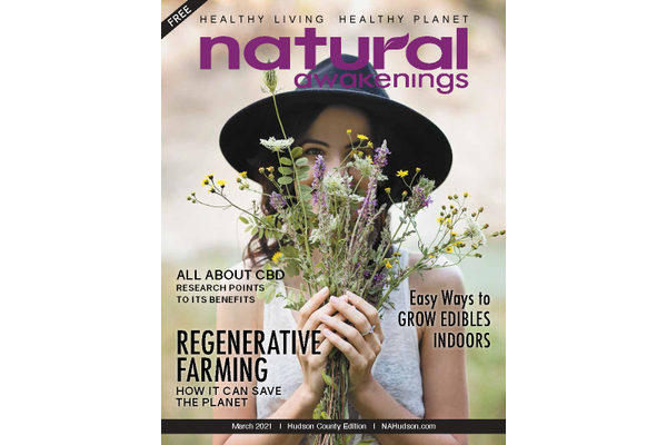 Natural Awakenings Hudson County March cover