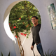 Larry at home, a beautiful Spanish Revival design that his wife describes as 'Ole Hanson on steroids.'